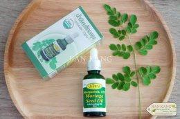 น้ำมันเมล็ดมะรุมสกัดเย็น ออร์แกนิค 100% (Moringa Seed Oil Organic 100%)