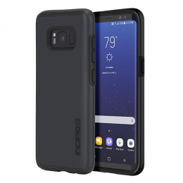 Incipio DualPro for Samsung    S8 Plus - Iridescent Black/Black