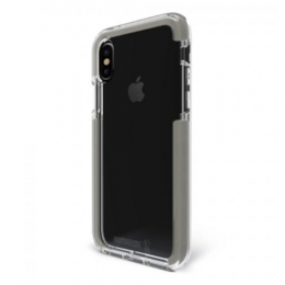 Bodyguardz Unequal Ace Pro Case for iPhone X - Clear/Gray