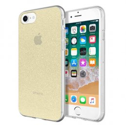 Incipio Design Series - Classic for iPhone 8, iPhone 7, & iPhone 6/6s - Champagne Glitter