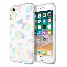 Incipio Design Series - Classic for iPhone 8, iPhone 7, & iPhone 6/6s - Holographic Kisses