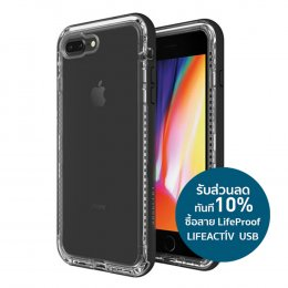 LifeProof Next Series for iPhone 8 Plus and iPhone 7 Plus, Black Crystal