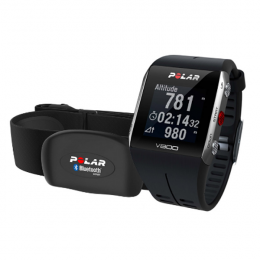 POLAR V800 with Heart Rate Monitor - Black