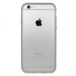 Power Support Arc Bumper set for iPhone 6/6S - Silver