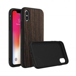 Rhinoshield SolidSuit for iPhone X - Black Oak