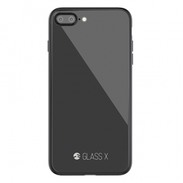 SwitchEasy Glass X for iPhone 7Plus/8Plus - Space Gray