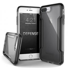 X-Doria Defense Clear for iPhone 8 Plus - Black