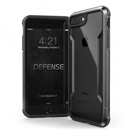 X-Doria Defense Shield for iPhone7 Plus / 8 Plus  - Black