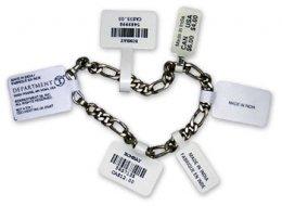 ฉลากจิวเวอรี่ Jewelry Tags Dumbbell Tags