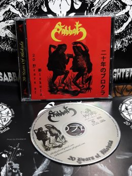 SABBAT'20 Years of Blokula' CD.