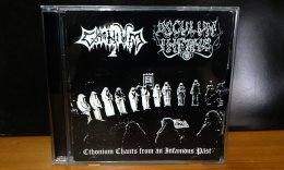 CTHONIUM/OSCULUM INFAME'Ethonium Chants from an Infamous Past' CD.