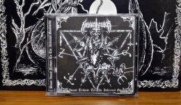 NEKKROFUKK'Blood Vomit  Tribute To The Infernal Goatlords' CD.