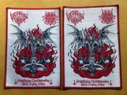 ARCHGOAT/SURRENDER OF DIVINITY'S Split woven patch.