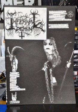 INFERNAL DEMON'Fanzine # ISSUE 1