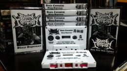 BRAIN CORROSION'Sleazy Supremacy' Tape.