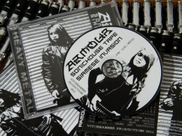 ARMOUR'Sonic House tape Siamese Invasion. CD.
