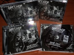 SACCAGE'Death Crust Satanique'CD.