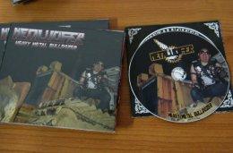 METALUCIFER'Heavy Metal Bulldozer' Digi-CD.