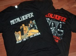 METALUCIFER'Heavy Metal Bulldozer' T-Shirt