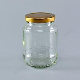 ขวดแก้ว 12 Oz TG179 + ฝาทองเกลียวล็อค 63 mm