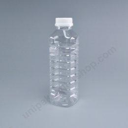 ขวดน้ำผลไม้ PET ขนาด 500 cc เหลี่ยม ปาก 32 mm พร้อมฝา