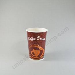 ถ้วยกระดาษ 16 oz ลาย Coffee Dream