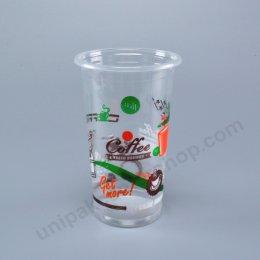 ถ้วยน้ำดื่ม 20 ออนซ์ เรียบ PP พิมพ์ ปาก 90 mm
