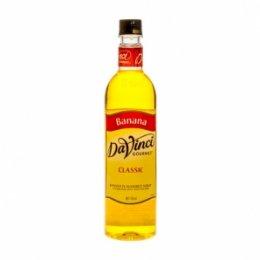 ไซรัป DaVinci Banana - 750 ml.