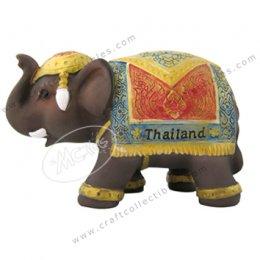 Thai Fabric (red-blue)