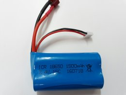 Li-ion Rechargeable Battery 7.4V 1500mAh