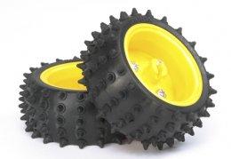 Spike Tire Set (65mm Dia.)