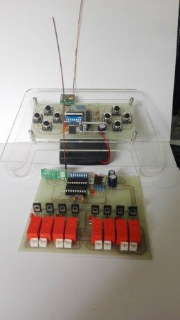รีโมทไร้สาย Version 2 สำหรับควบคุมมอเตอร์ 4 ตัว
