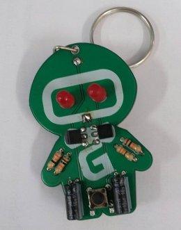 ชุดคิต gtech robot keychain พวงกุญแจไฟกระพริบ (ยังไม่ประกอบ) : Pre Order