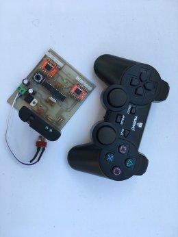 รีโมทไร้สาย Wireless Joystick ความถี่ 2.4GHz และบอร์ควบคุมมอเตอร์