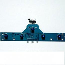 sensor จับเส้น 5 linetracker + 1 switch+1 Detector