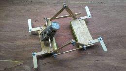 ชุดคิตหุ่น Katerpillar Bot N(กรุณาระบุในหมายเหตุว่าใช้ อปก ร่วมกับแบตเตอรี่หรือชุดปั่นไฟ)