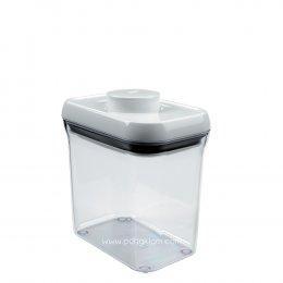 OXO กล่องถนอมอาหาร Pop Container สี่เหลี่ยมผืนผ้า ขนาด 1.4 ลิตร