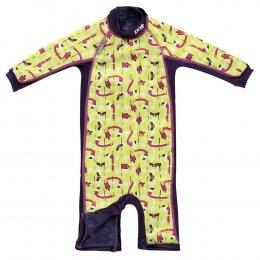 Close Snug Suit ชุดว่ายน้ำเด็ก ลาย Flamingo