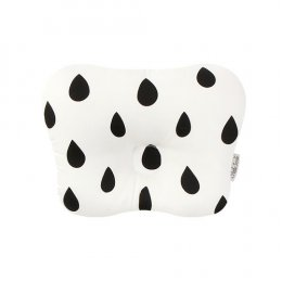 หมอนหัวทุย Little Seeds Newborn Pillow -Modern rain