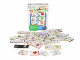 พัซเซิลไม้  Wooden Alphabet Learning Puzzles