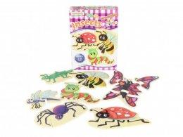 พัซเซิลไม้ Insects Mini Puzzles