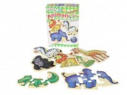 พัซเซิลไม้ Animals Mini Puzzles