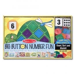 ชุดกระดุม เรียนรู้ ตัวเลข รูปร่าง และสีต่างๆ