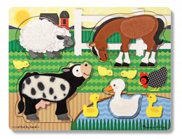 Farm Animals Touch and Feel Puzzle