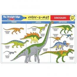 Write-A-Mat Learning Mat - Dinosaurs