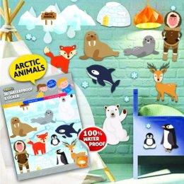 สติ๊กเกอร์กันน้ำ ลาย Artic Animals