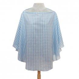 ผ้าคลุมให้นม Beanie Nap รุ่น Oxford - Blue Table