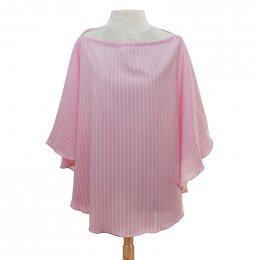 ผ้าคลุมให้นม Beanie Nap รุ่น Oxford - Toffee Pink