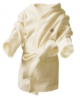 Baby Bathgown ( Terry Beige Fabric)  (John N Tree)