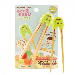ตะเกียบฝึกหัด Mother's Corn Chopstick Training
